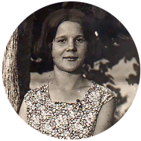 Herminia, a finales de los años 20