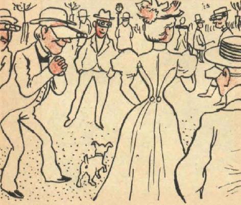 The Monigoty, 28 de octubre de 1897. Gafas de rayos X del año 2000