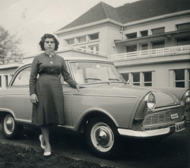 Moraima, en Bruselas. Años60