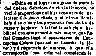 El Carbayón, 22.6.1898