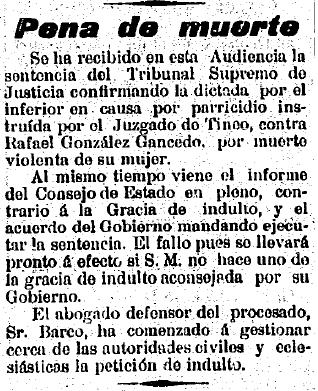 El Carbayón. 10 de junio, 1899