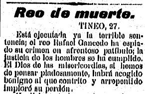 El Carbayón, 27.6.1899