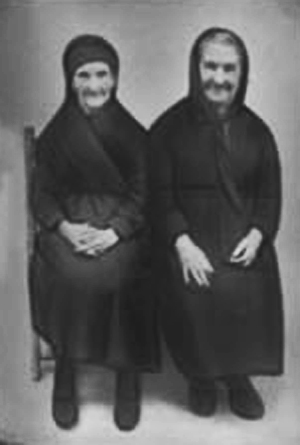 Catalina y Concepción Rodríguez, años 30