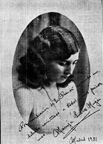 1931 Maruja Suarez
