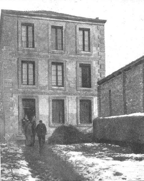 La casa de Tximista Enea, en 1918
