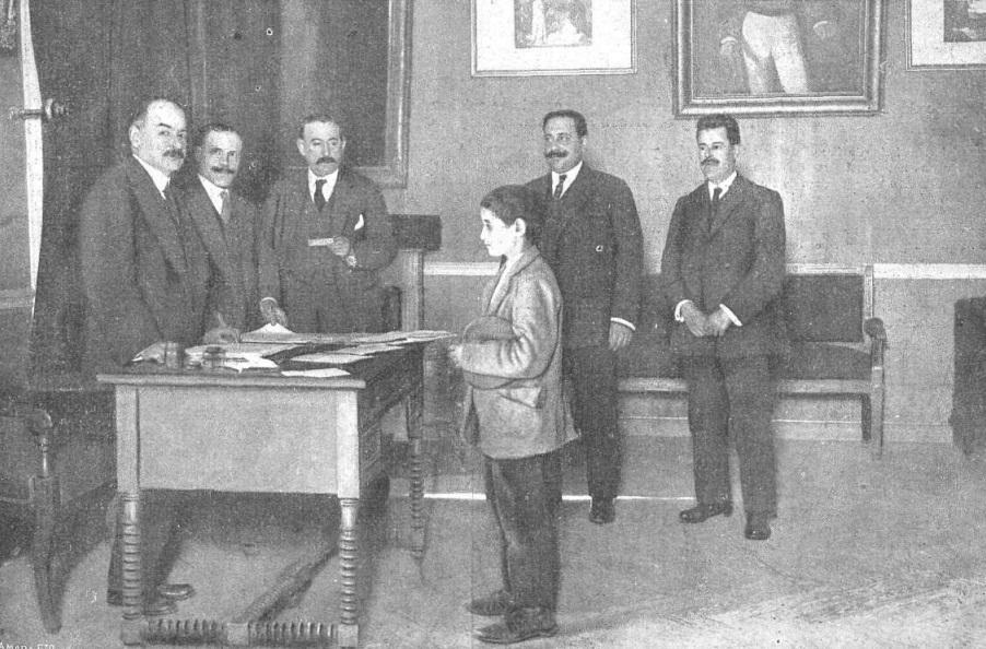 Manolito Rodríguez declarando ante el juez