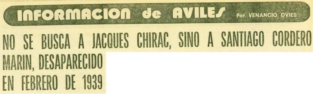 Titular de EL COMERCIO el 29 de septiembre de 1978 (página 37). Ejemplar disponible en http://hemeroteca.elcomercio.es/